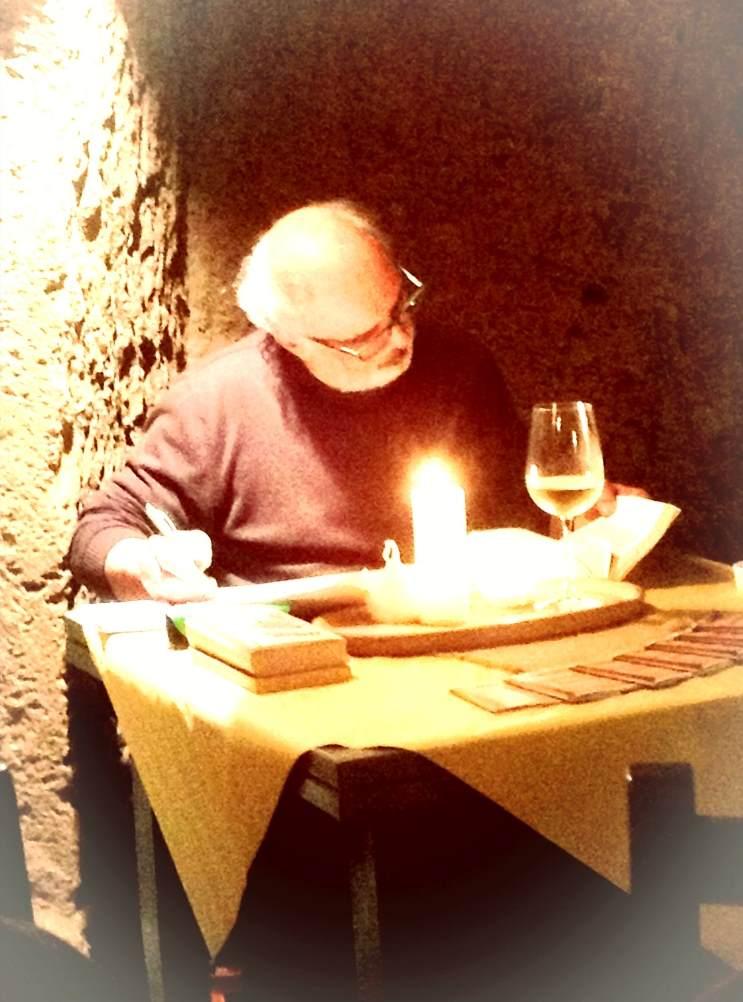Yves/rabelais interpreta l'almanacco canzonatorio.