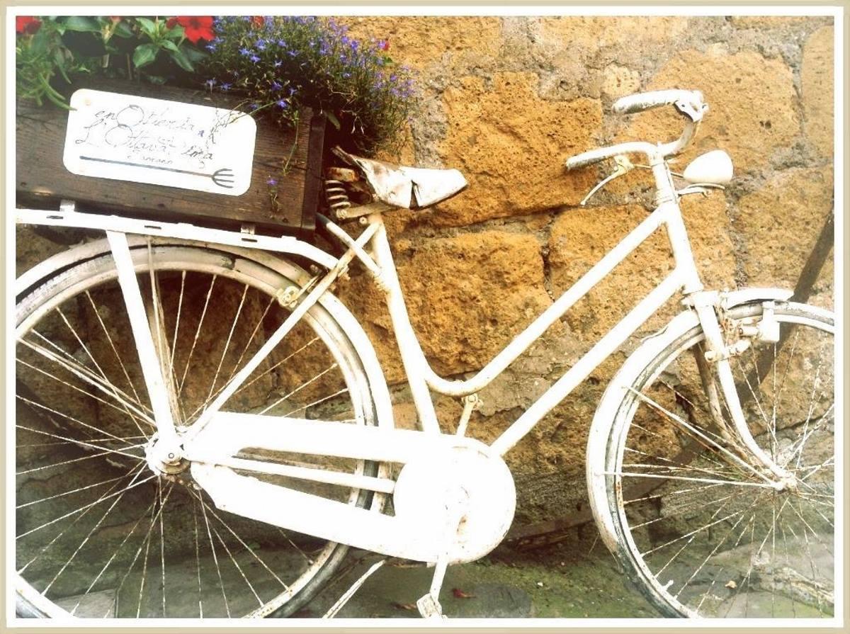 The white bike (la bici di Tobia)